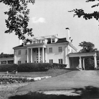 Apple Trees was built at the turn of the century and is known for its beautiful Corinthian columns and formal gardens.